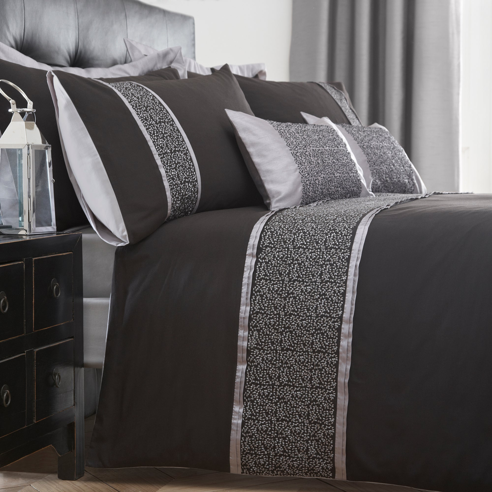 Black Mercury Collection Duvet Cover