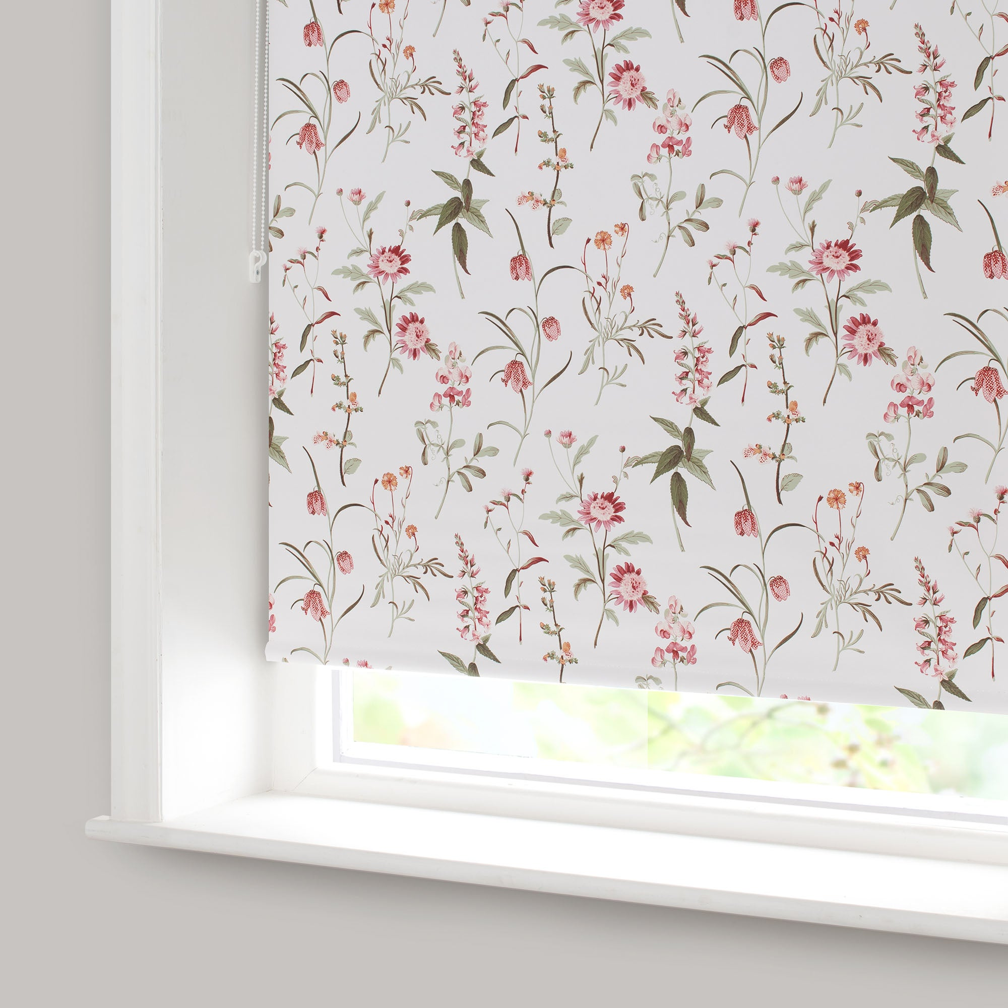 Alice Red Blackout Roller Blind