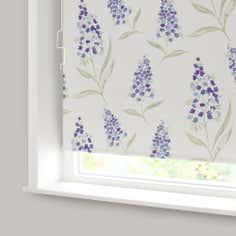 Mauve Eloise Cordless Blackout Roller Blind