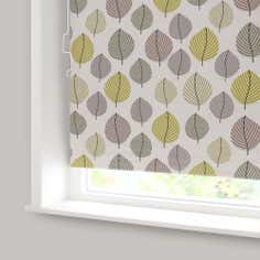 Green Regan Blackout Cordless Roller Blind