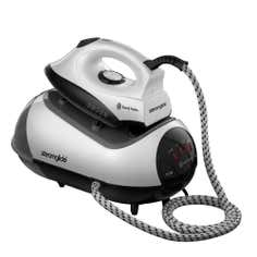 Russell Hobbs 1788 Pressurised Black Steam Generator Iron