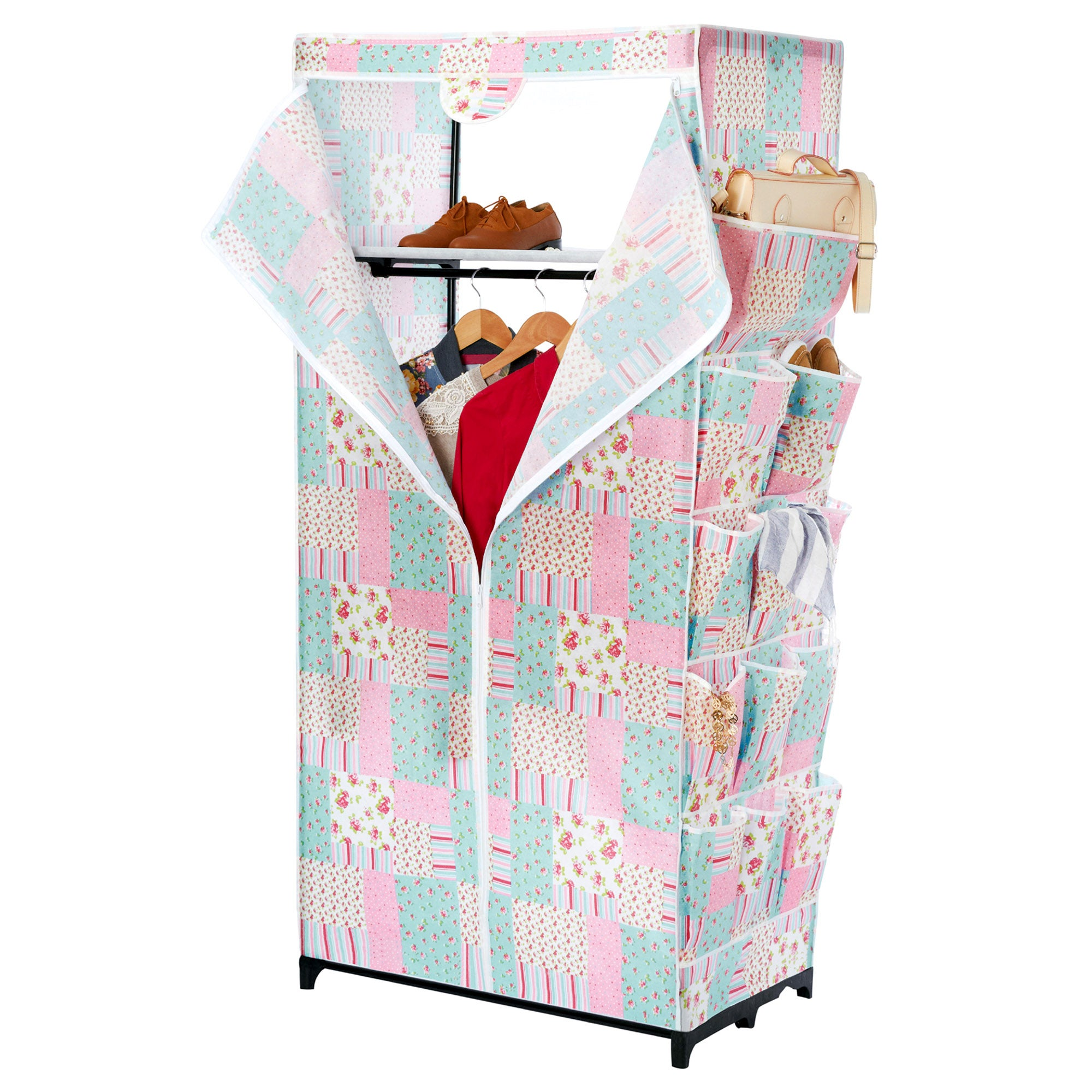 Patchwork Wardrobe With Pockets