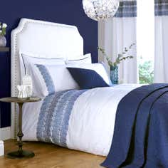 Blue Indi Collection Duvet Cover
