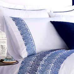 Blue Indi Collection Housewife Pillowcase