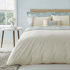 Duck Egg Olivia Collection Duvet Cover