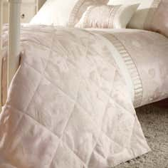 Pink Olivia Collection Bedspread