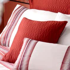 Terracotta Saffron Collection Square Cushion