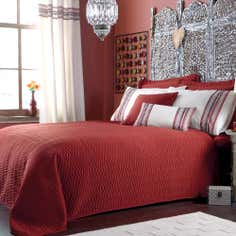 Terracotta Saffron Collection Bedspread