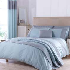 Teal Vancouver Collection Duvet Cover
