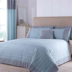 Teal Vancouver Collection Bedspread