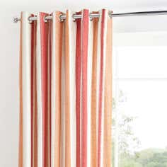 Boston Stripe Thermal Eyelet Curtains