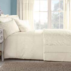 Cream Chloe Rose Collection Duvet Cover