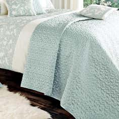 Duck Egg Evie Butterfly Collection Bedspread