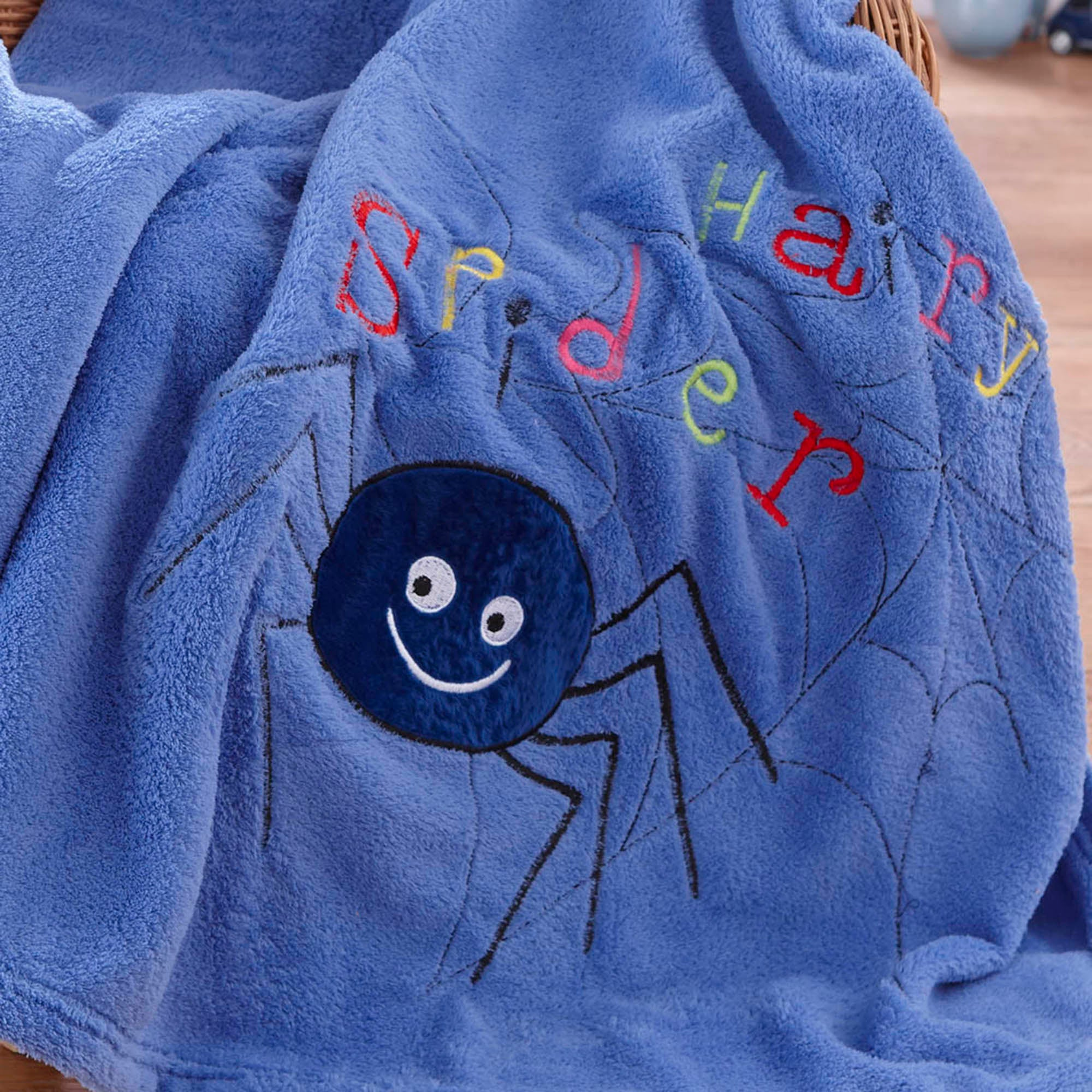 Kids Bugs Collection Fleece Throw