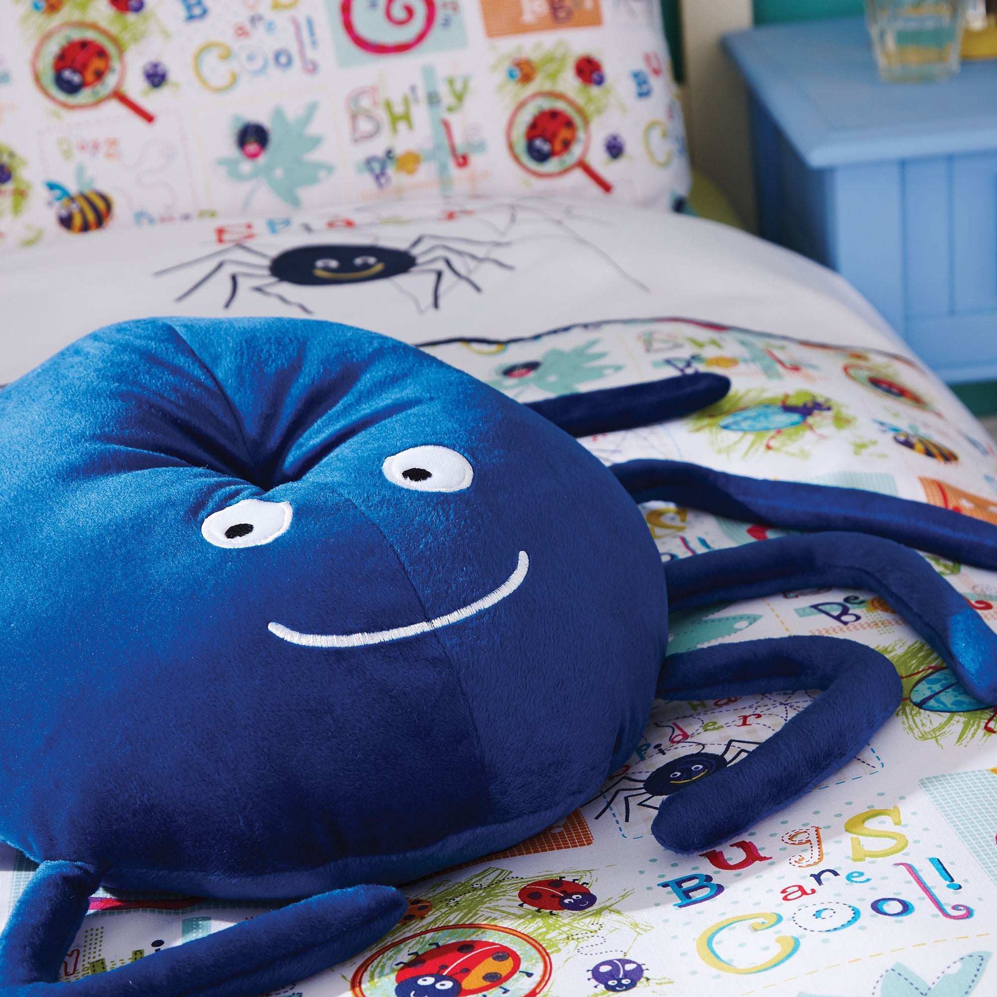 Kids Bugs Collection 3D Cushion