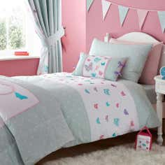 Kids Love To Shop Collection Duvet Cover Set