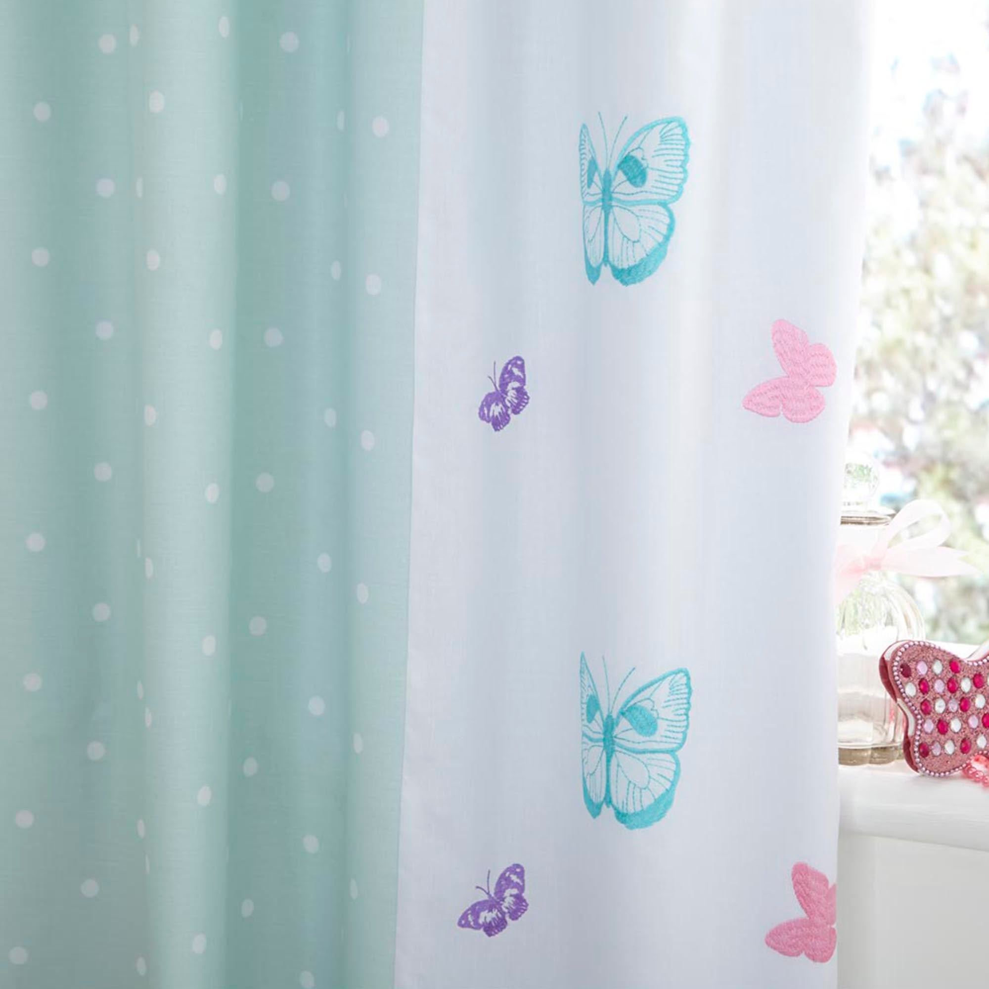 Kids Love To Shop Blackout Pencil Pleat Curtains