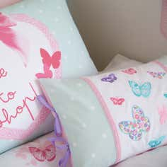 Kids Love To Shop Collection Boudoir Cushion