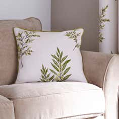 Green Pennine Filled Cushion