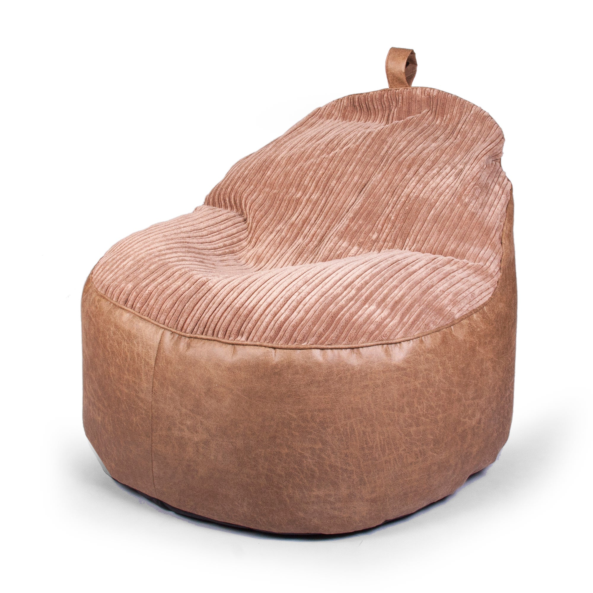 Latte Cord Jumbo Bean Chair