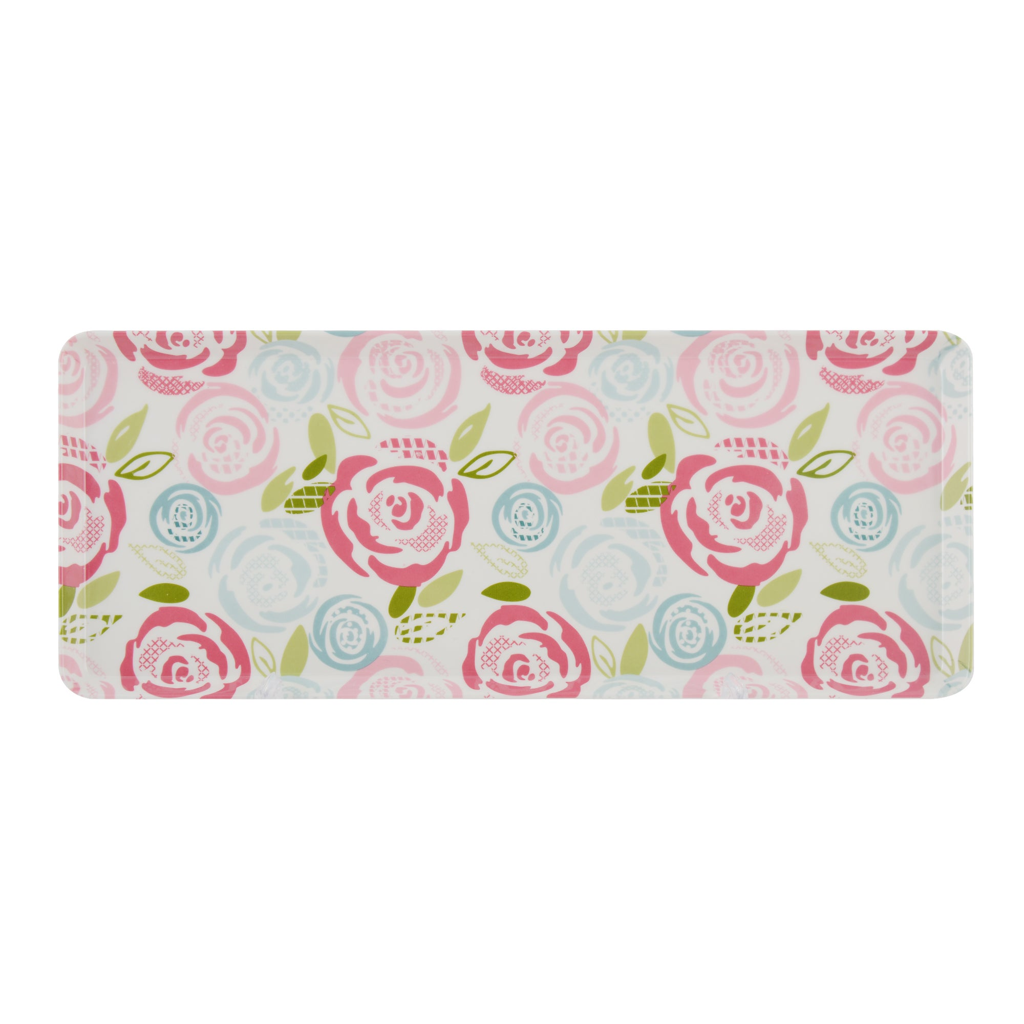 Candy Rose Collection Sandwich Tray