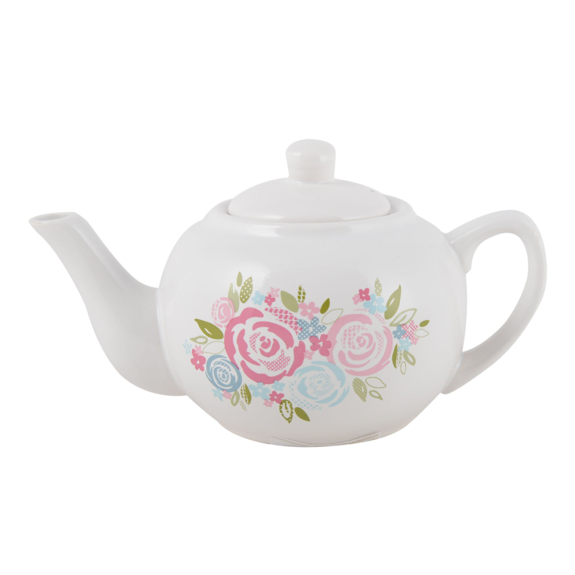 Candy Rose Floral Collection Teapot