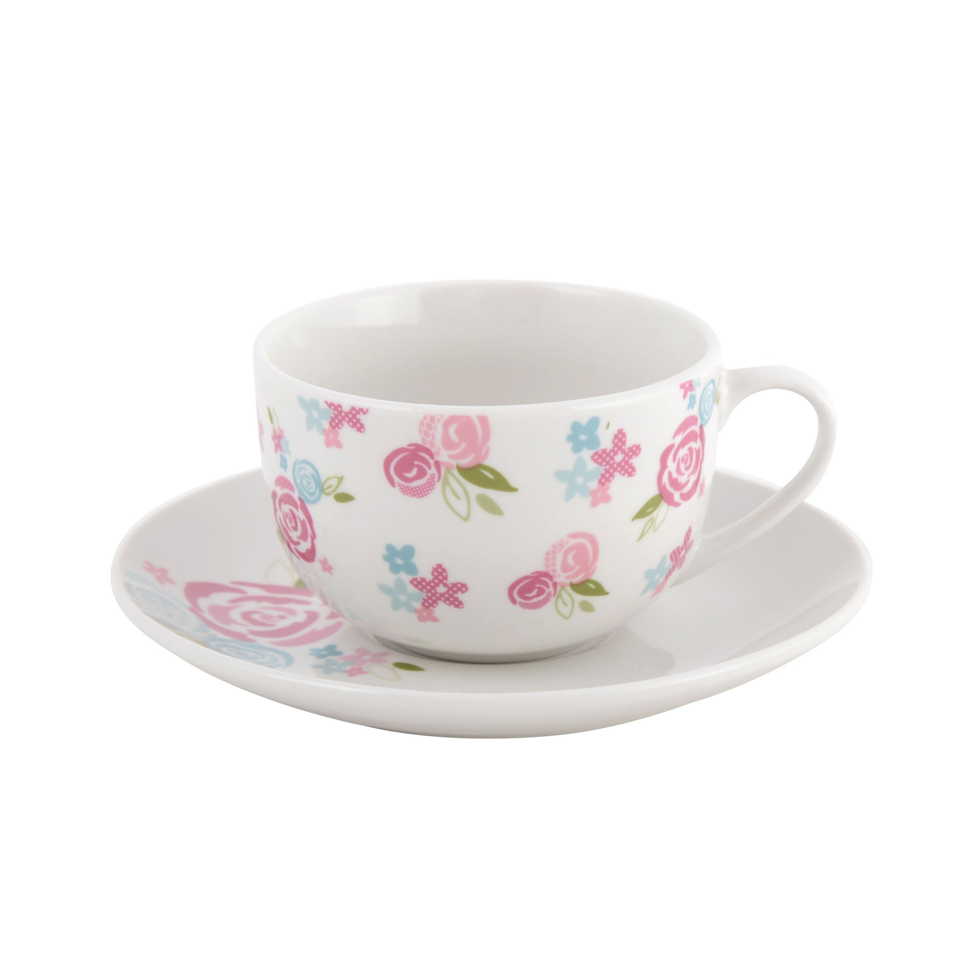 Candy Rose Collection Cup and Saucer