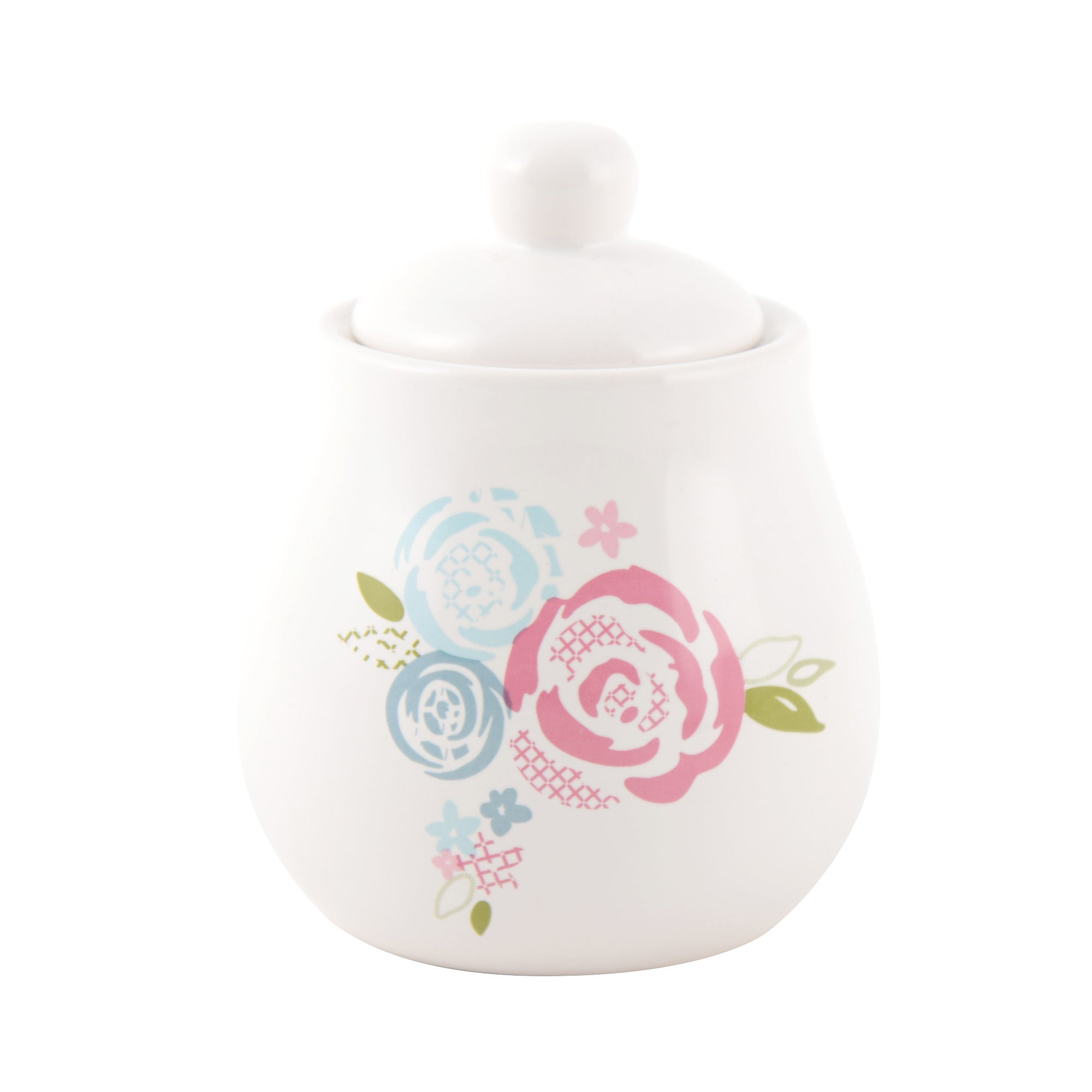 Candy Rose Collection Sugar Bowl