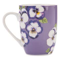 Purple Pansy Collection Purple Mug