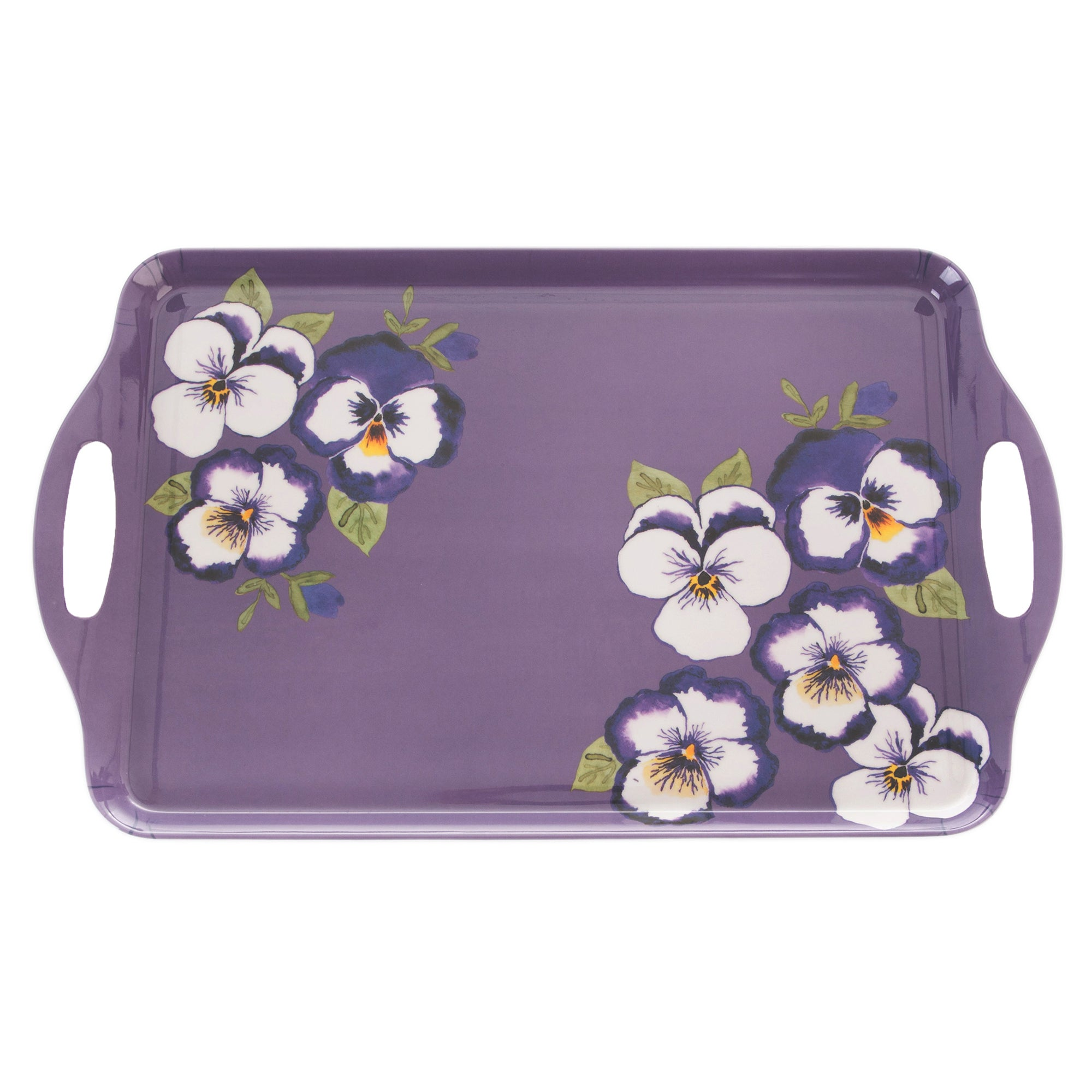 Purple Pansy Collection Tray