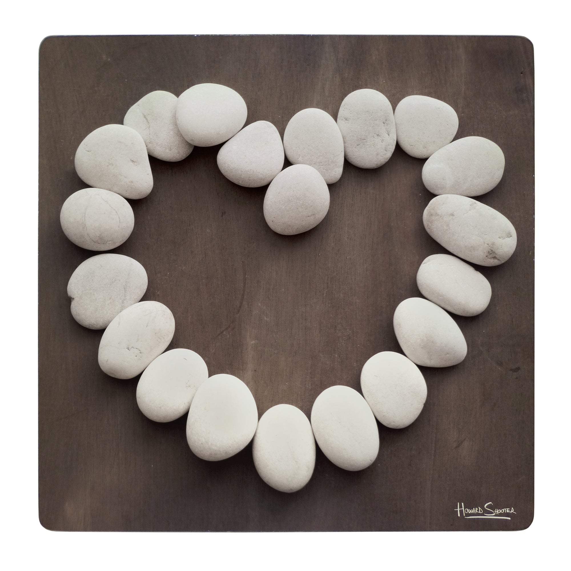 Pack of 4 Stone Heart Placemats