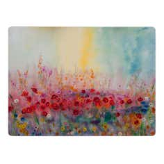 Pack of 4 Poppy Field Placemats