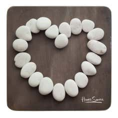Stone Heart Coaster 4 Pack