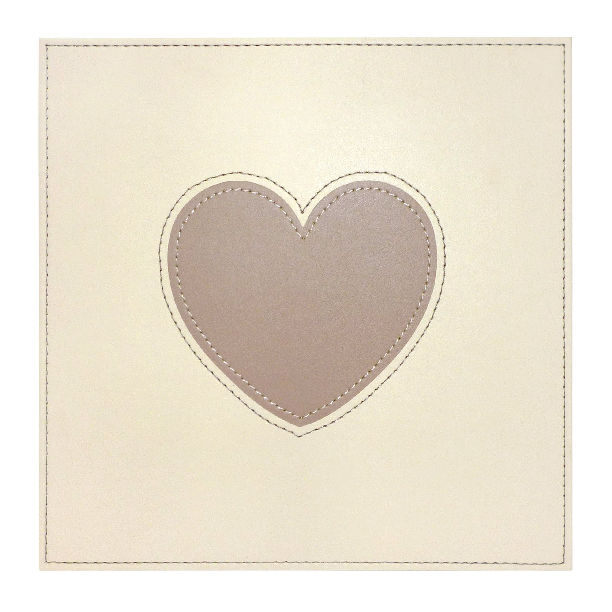 Faux Leather Heart Placemats 4 Pack