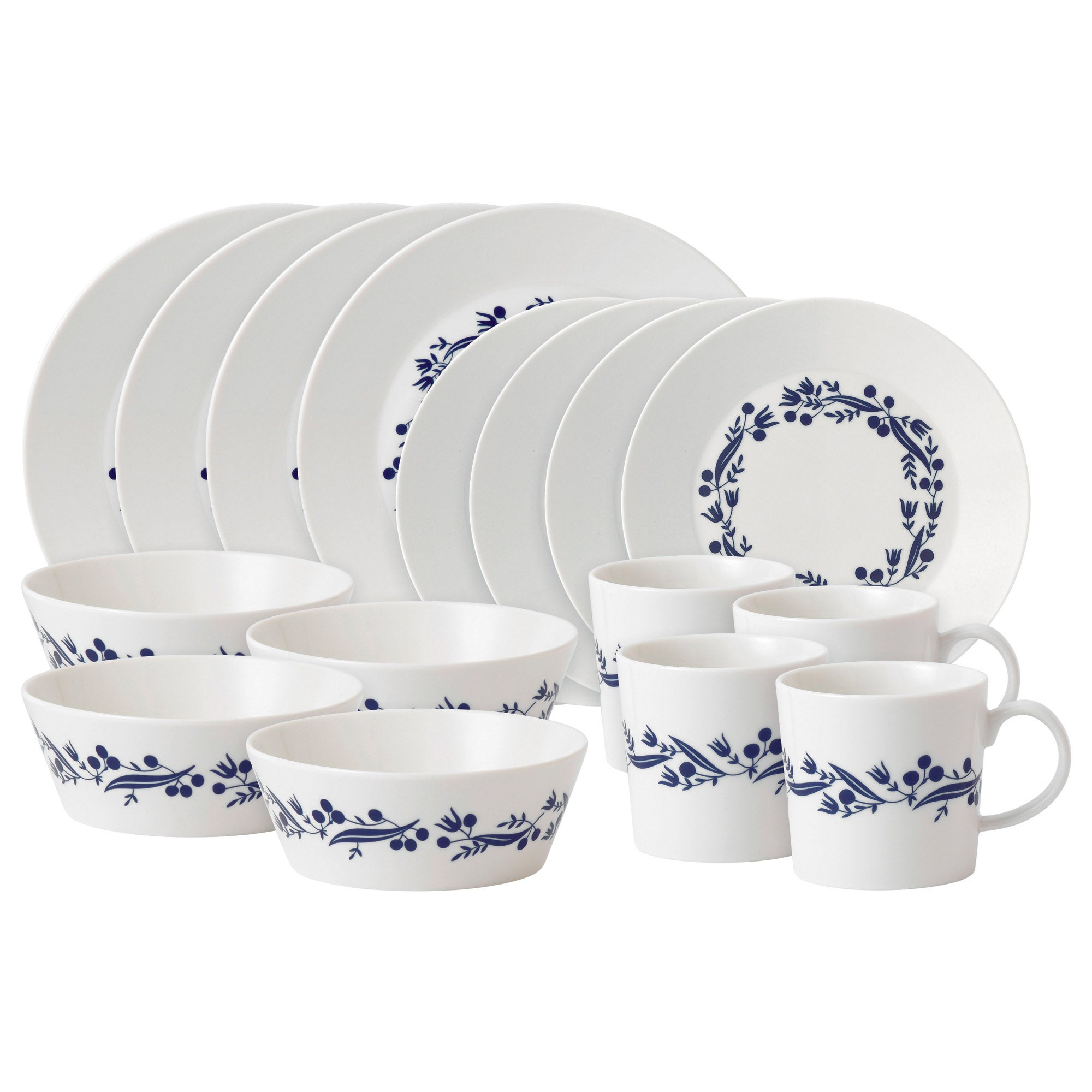 Royal Doulton Fable Collection Garland 16 Piece Dinner Set