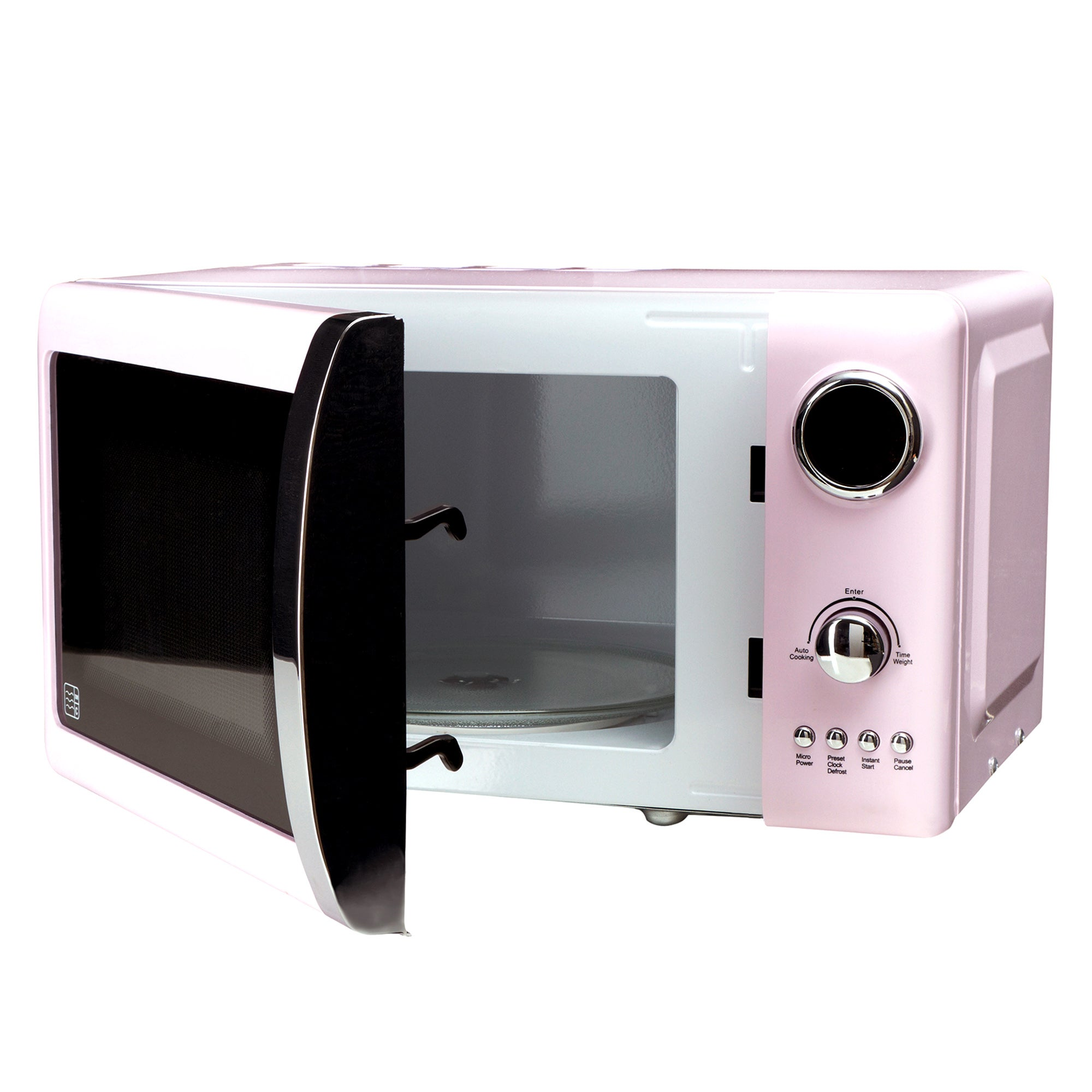 Candy Rose Collection Pink Microwave