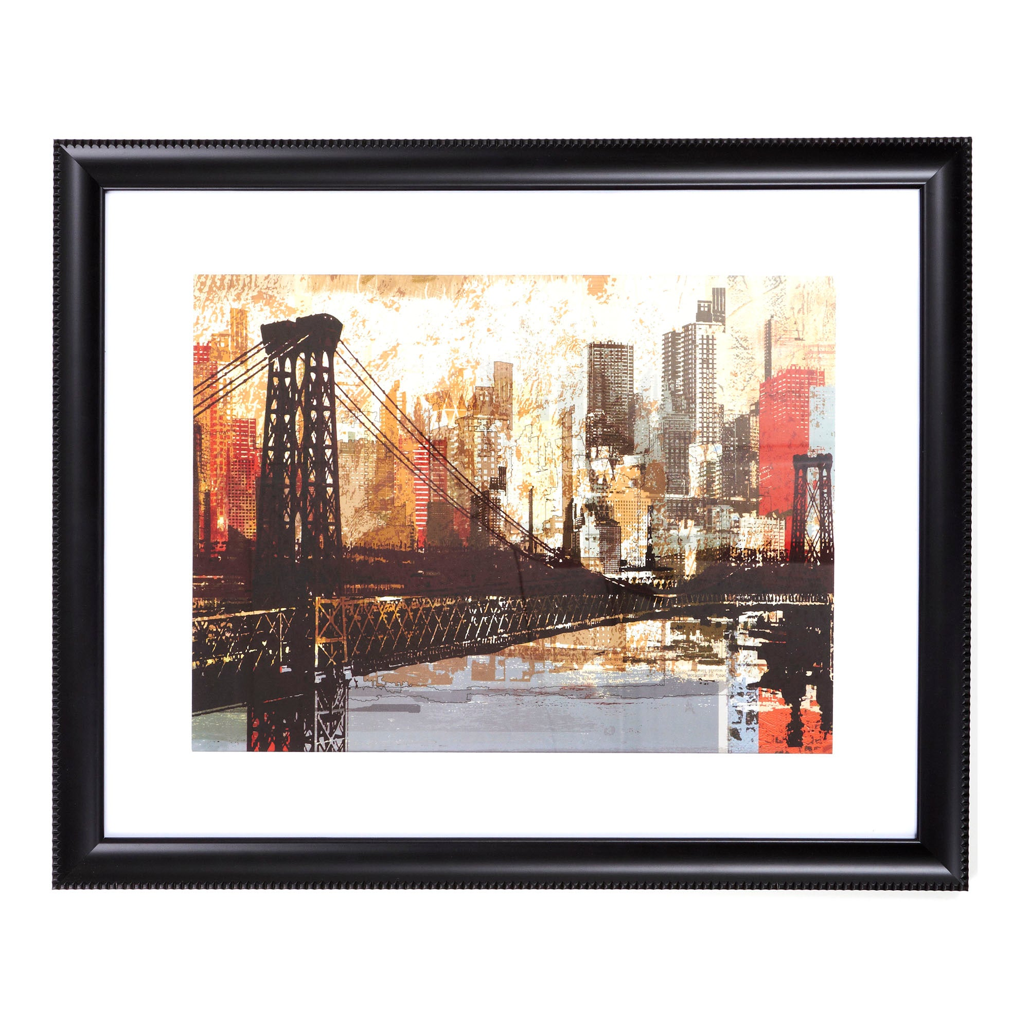 New York Bridge Framed Print