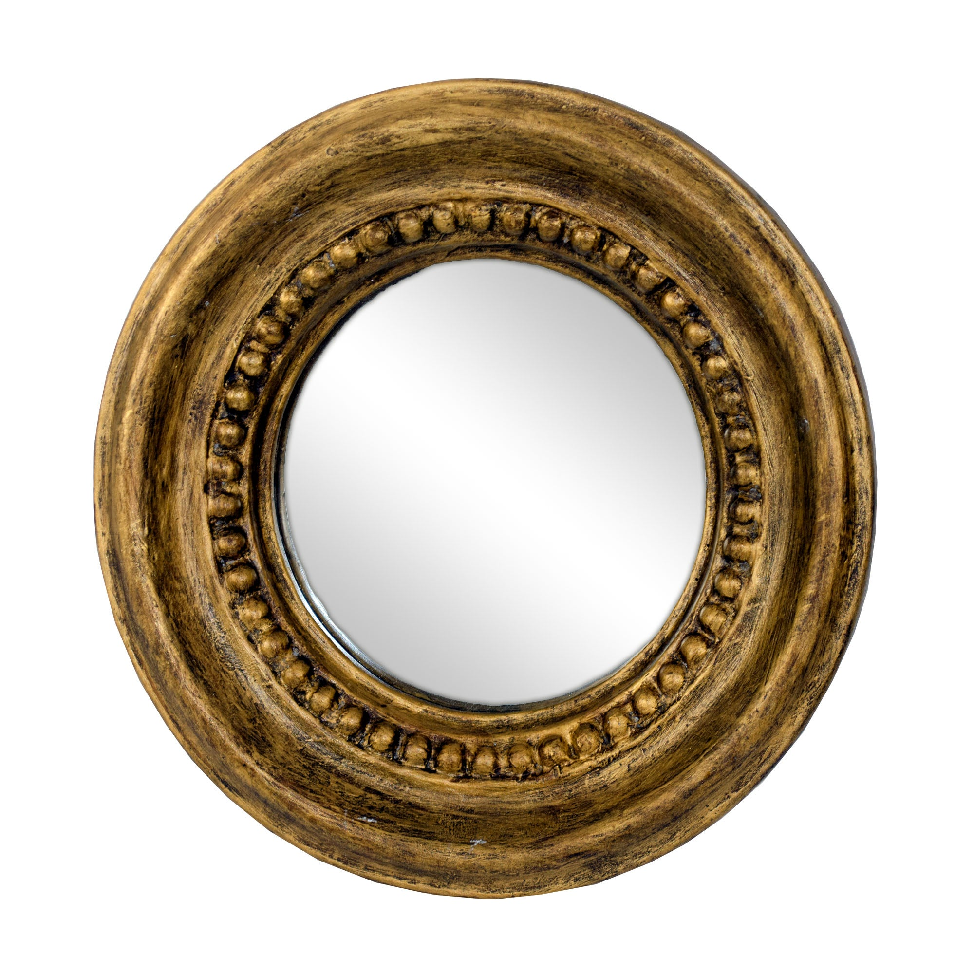 Golden Blush Collection Port Hole Mirror