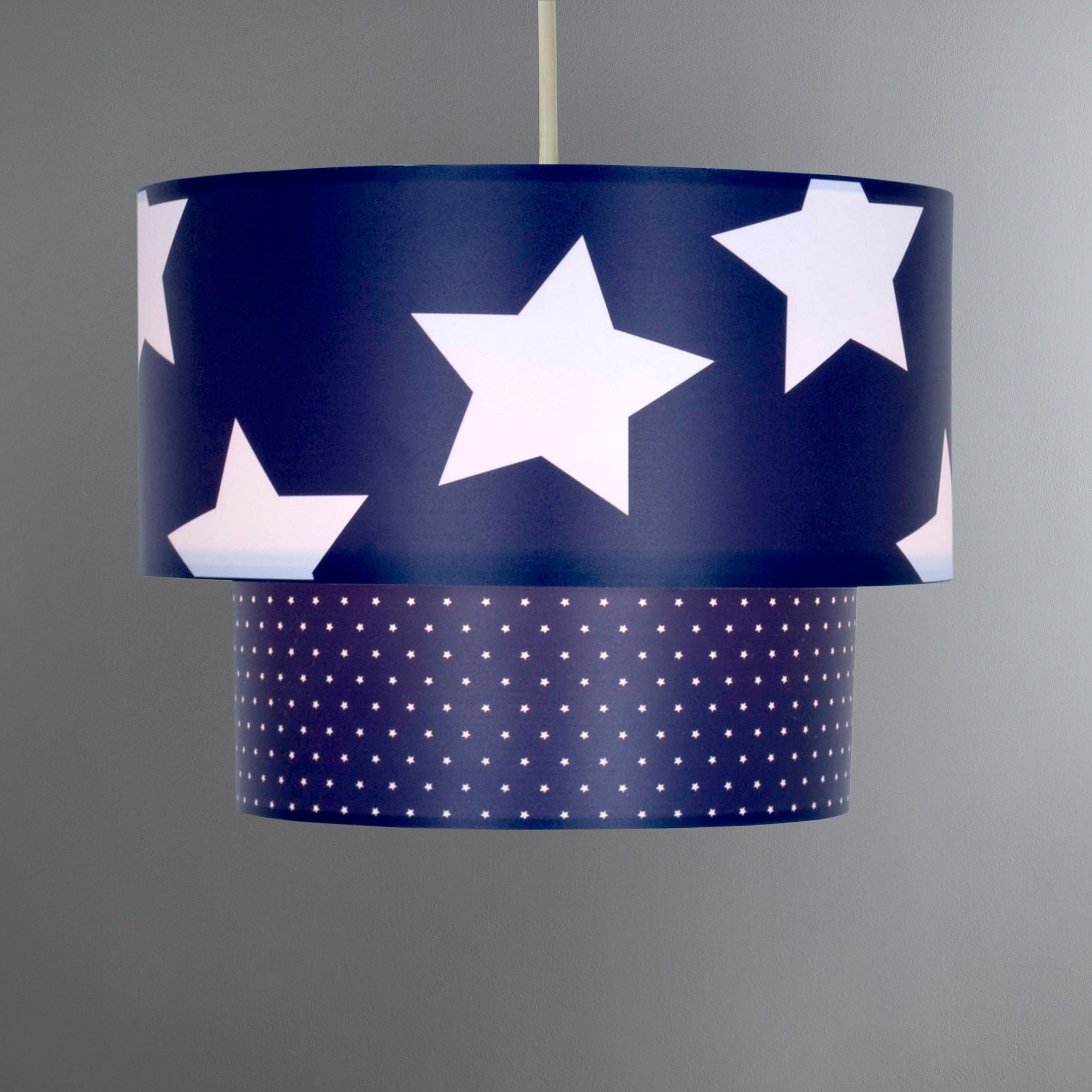 Kids Star Two Tier Pendant