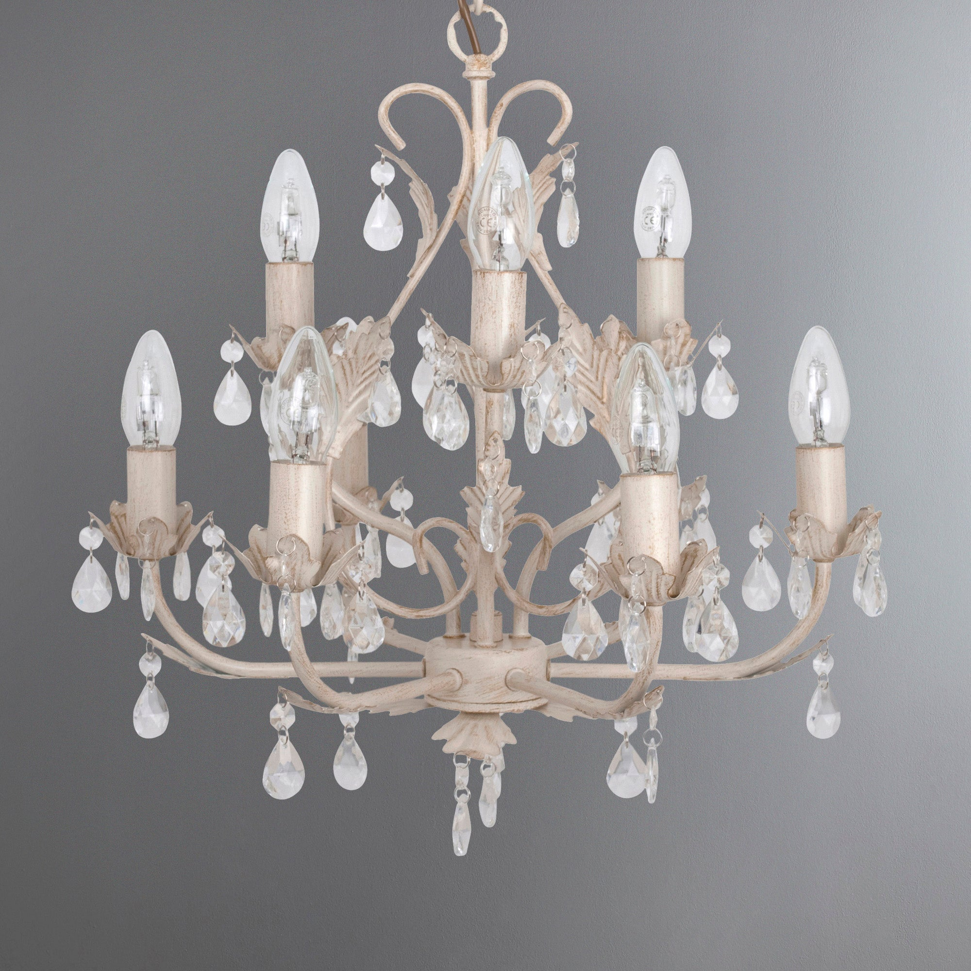 New styles at dunelm mill based discounts leaf and jewel 9 light ceiling fitting mozeypictures Gallery