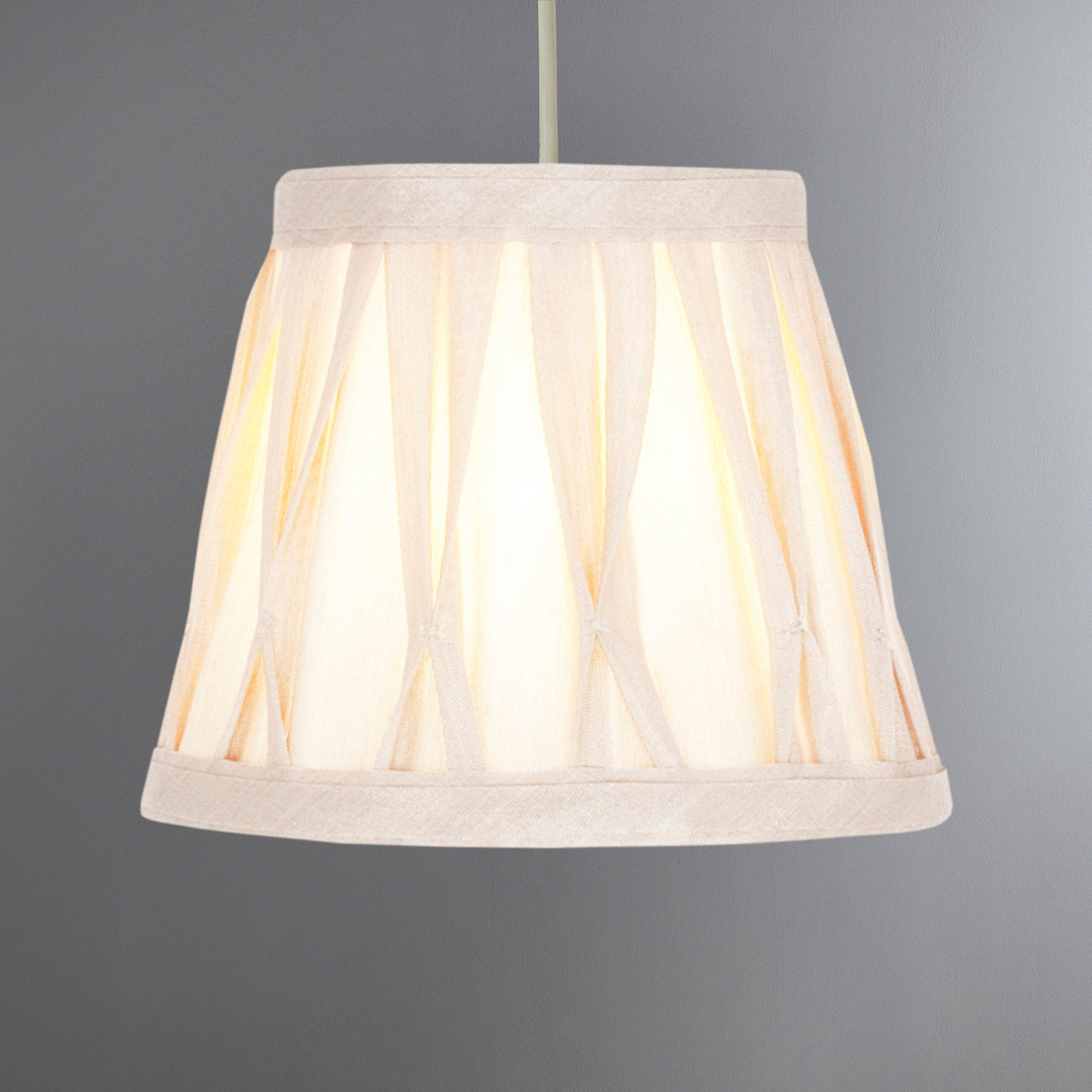 Valerie Pinch Pleat Candle Light Shade