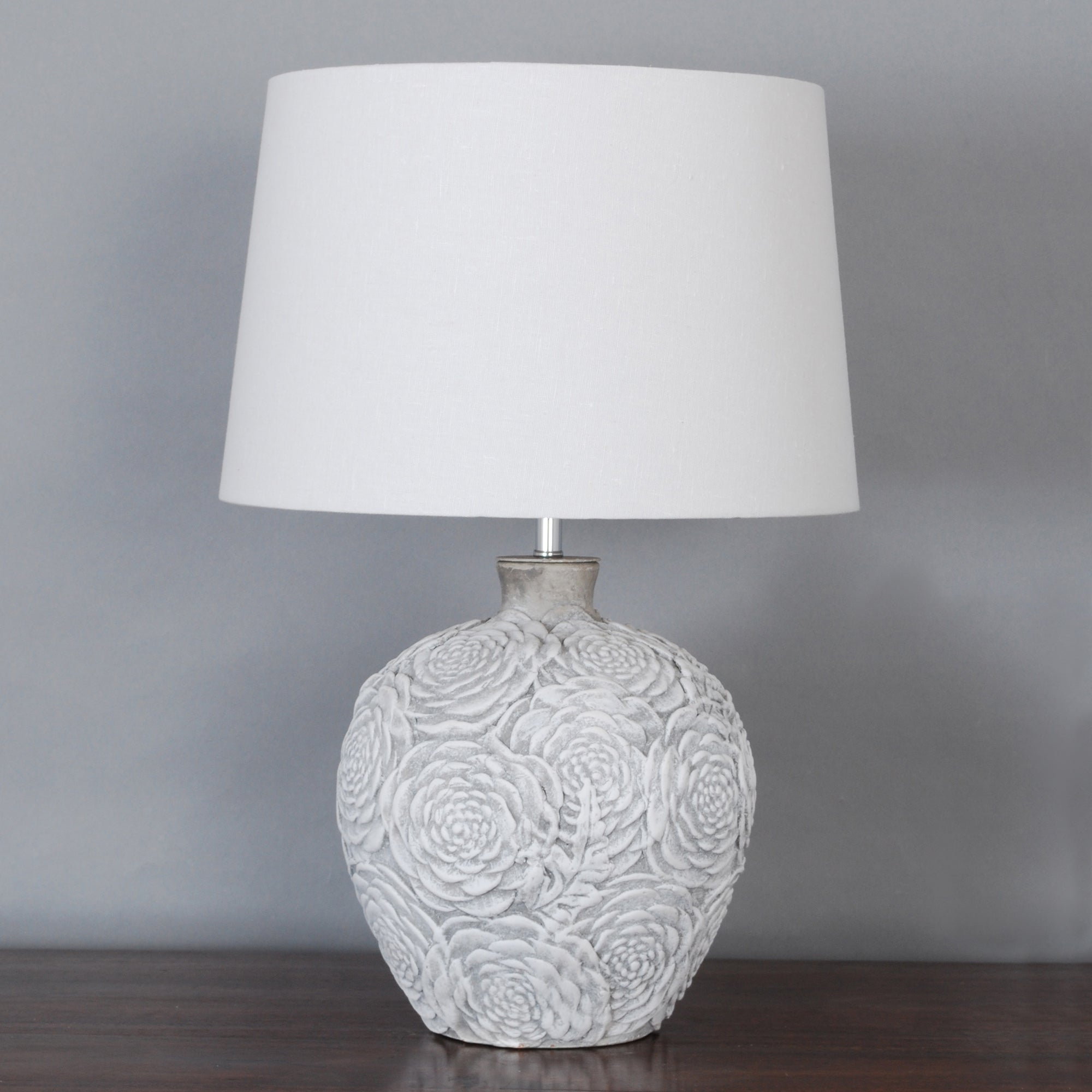 Madrid Stamped Urn Table Lamp