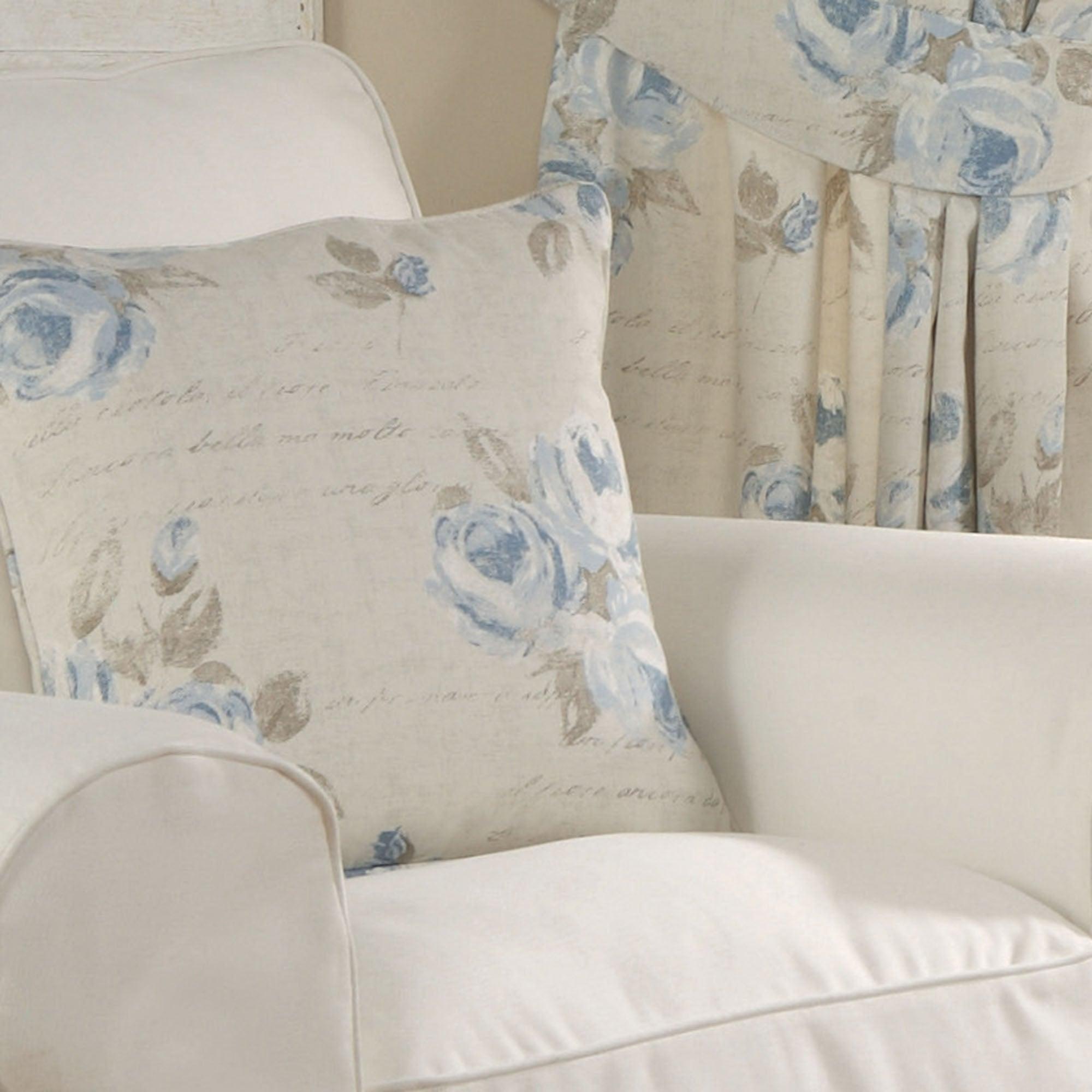 Blue Francesca Collection Cushion