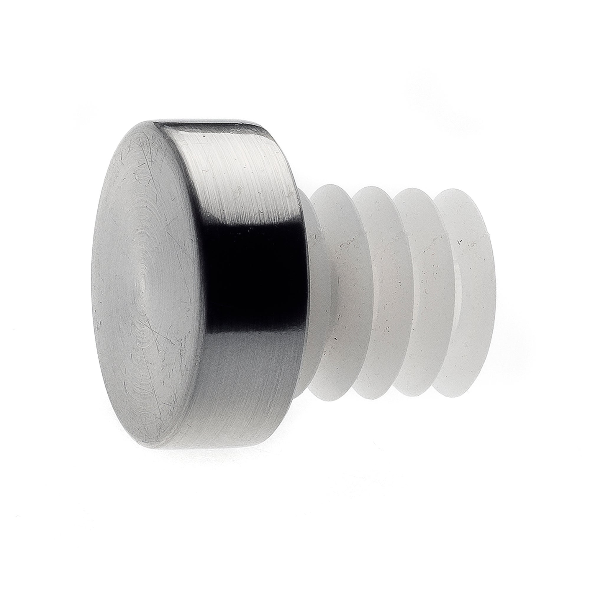 Mix and Match Collection Satin Steel Stud Finials