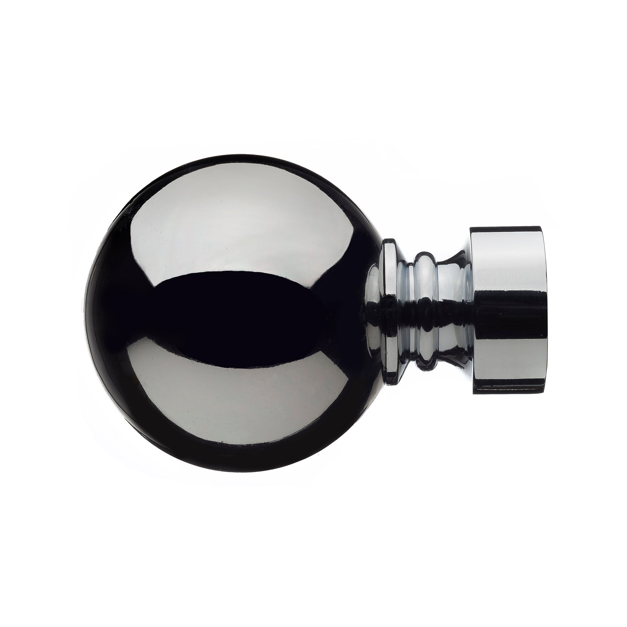 Mix and Match Collection Ashton Chrome Finials