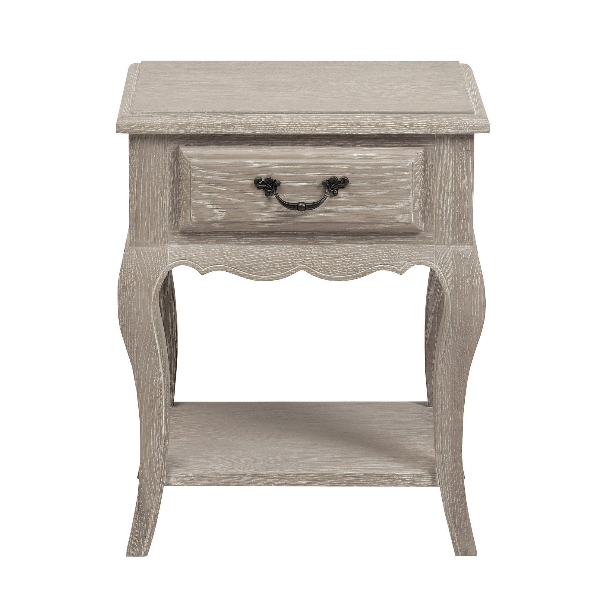 Annabelle Grey Wash Oak Nightstand