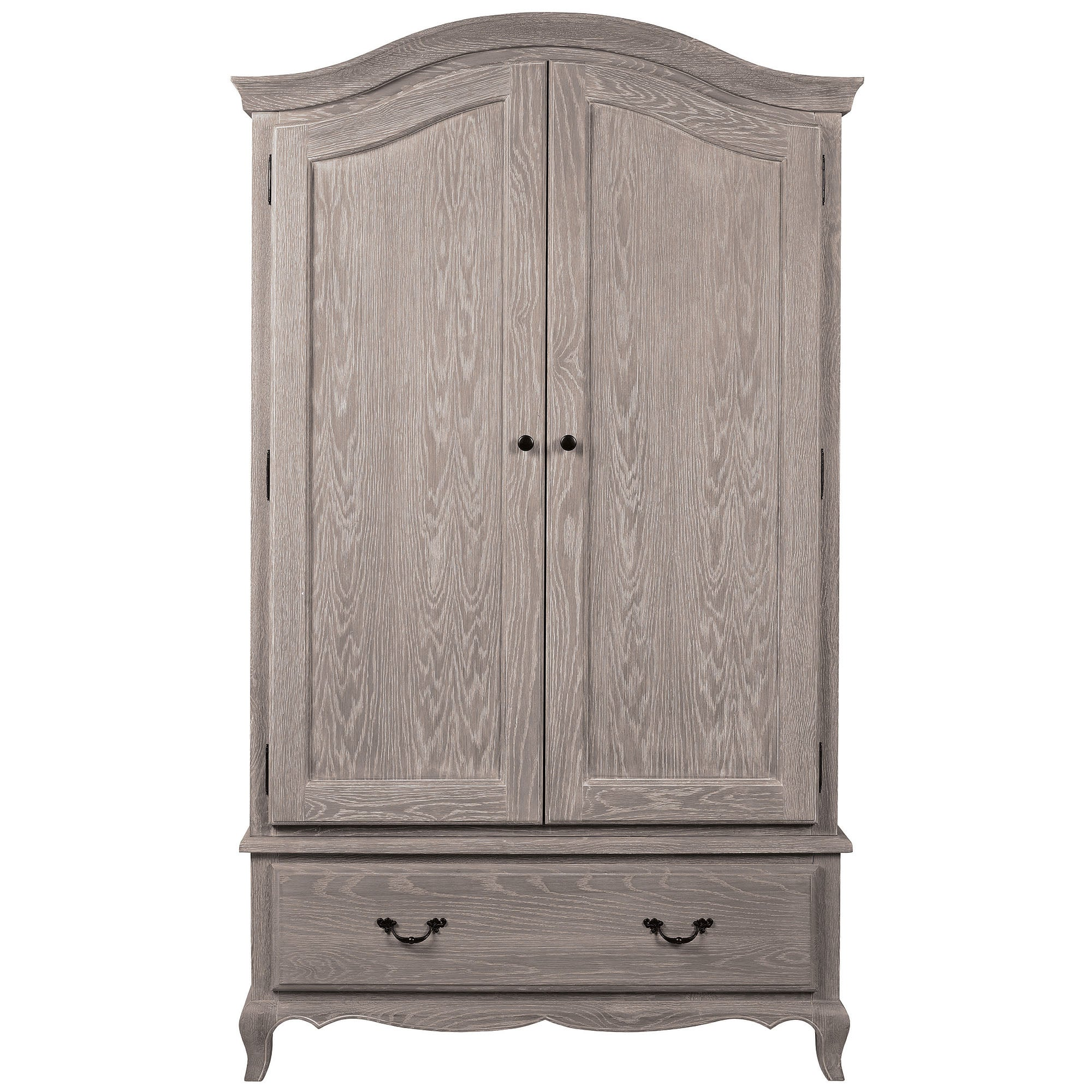 Annabelle Grey Wash Oak Wardrobe