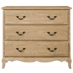 Annabelle Natural Oak 3 Drawer Chest