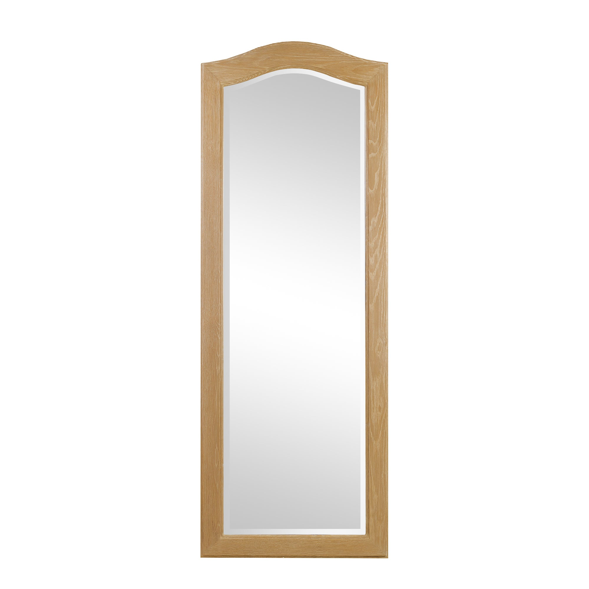 Annabelle Natural Oak Cheval Mirror