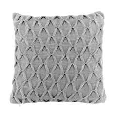 Puckered Knit Cushion